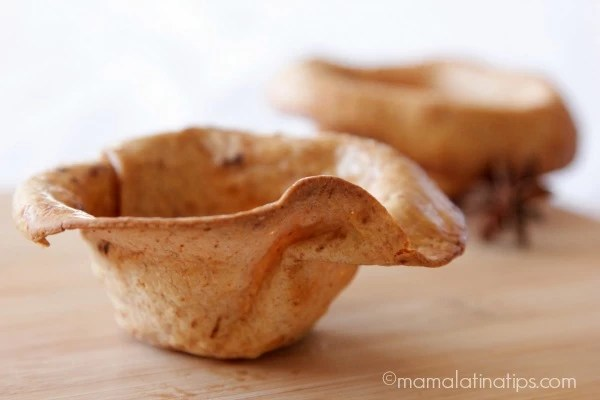 Buñuelo Style Ice Cream Basquet - mamalatinatips.com
