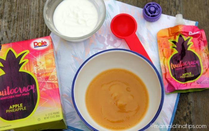 Ingredientes para paletas marmoleadas - mamalatinatips.com