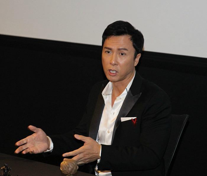 Donnie Yen at LucasFilm - mamalatinatips.com