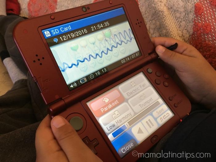 Nintendo 3DS XL sonidos - mamalatinatips.com
