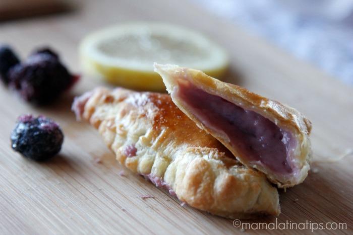blueberry empanadas