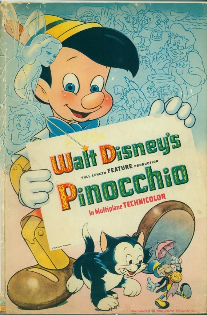 Original Pinocchio Poster - mamalatinatips.com