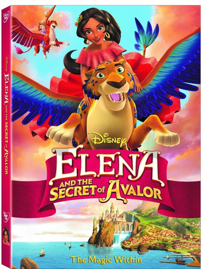 Elena and the Secret of Avalor - DVD