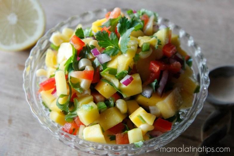 Mango Salsa - mamalatinatips.com