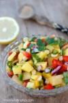 Salsa de Mango - mamalatinatips.com
