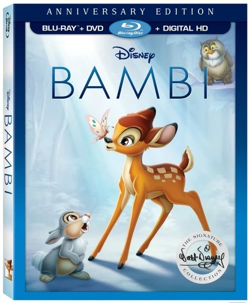 Bambi Gift Ideas - Walt Disney Signature Collection Blu-ray - mamalatinatips.com