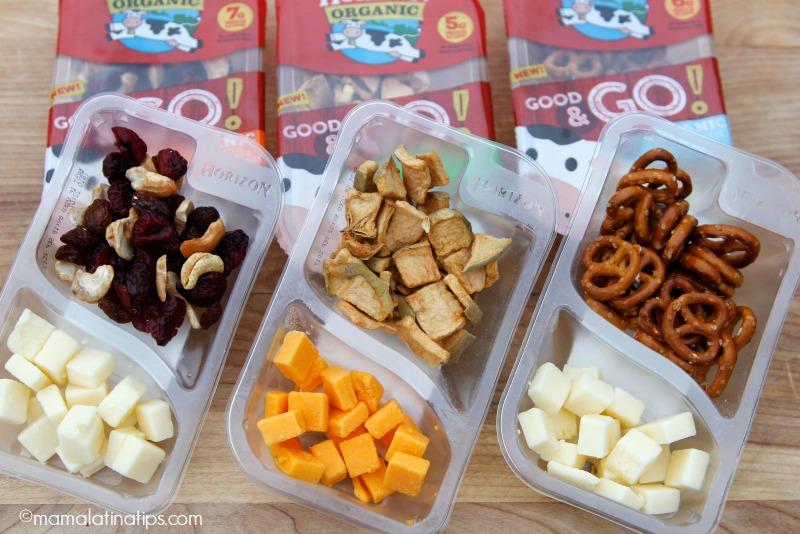 New Horizon Organic® Good & Go! snacks - mamalatinatips.com
