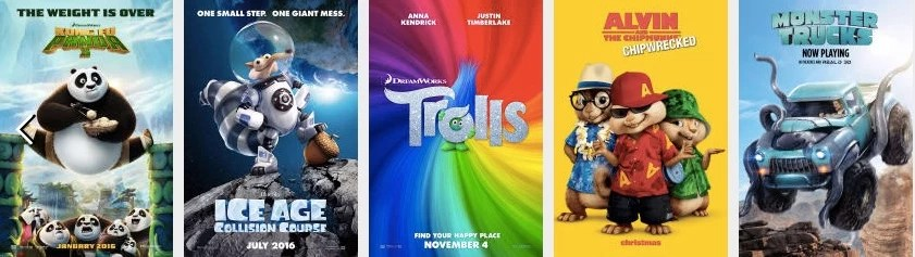 Free or Very Cheap Movies for Kids this Summer 2017