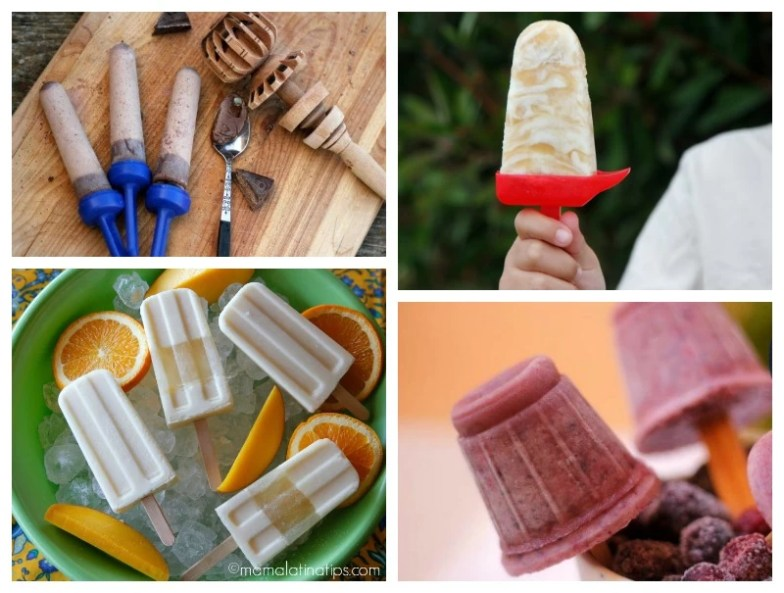 Ice pops for Summer - mamalatinatips.com