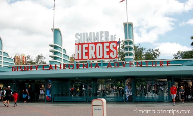 Summer of Heroes at Disney California Adventure