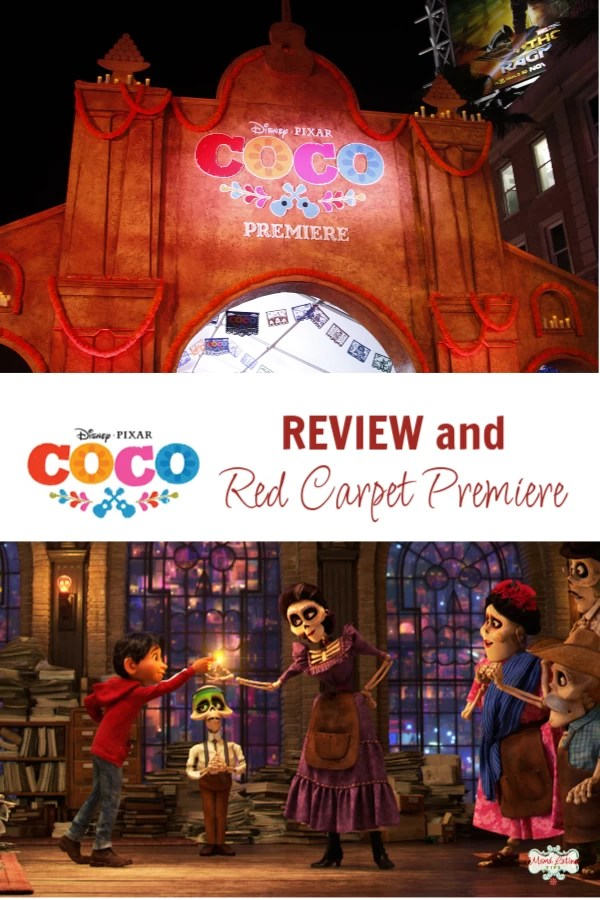 sney Pixar Coco review and Red Carpet Premiere. Celebrity photos, movie scenes and all the details of the premiere in Hollywood. #mamalatinatips #pixarmovies #CocoEveryYear #PixarCoco