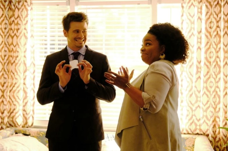 Jason Ritter, Kimberly Hebert Gregory