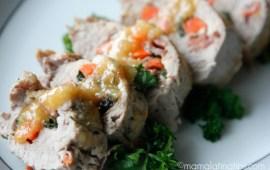 Lomo Mechado con Salsa de Chabacano y Habanero