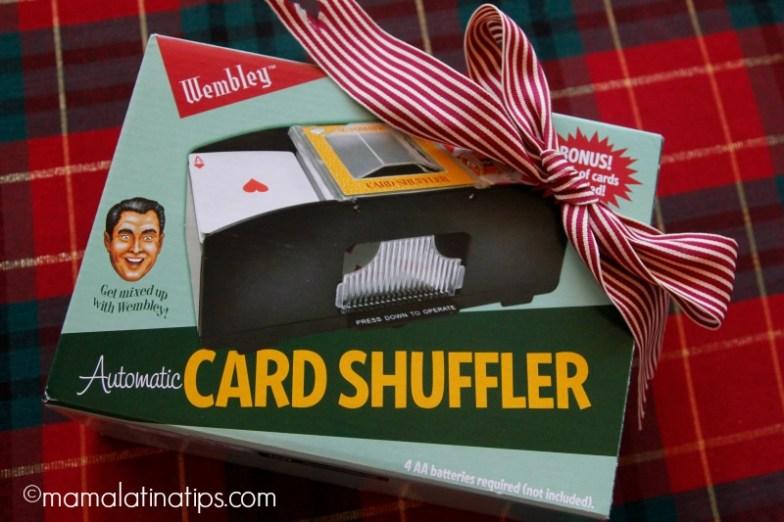 Card shuffler - máquina para barajear