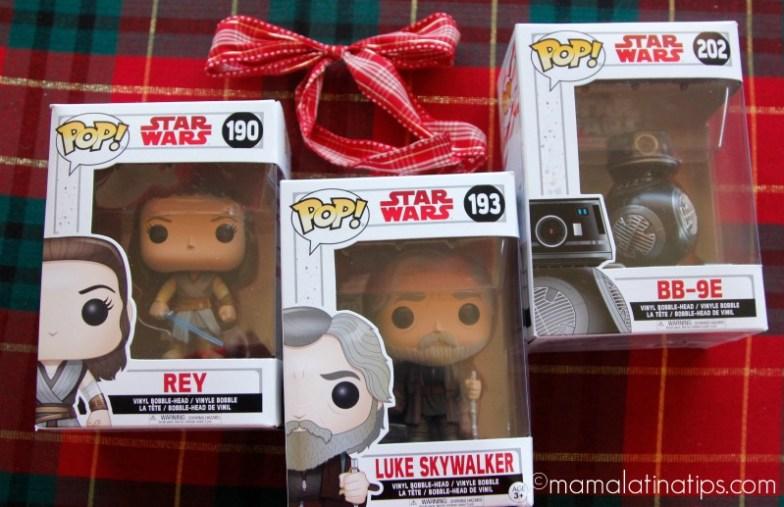 Figuras POP! de personajes de Star Wars