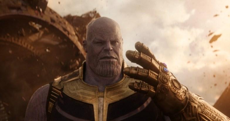 Thanos en Avengers: Infinity War
