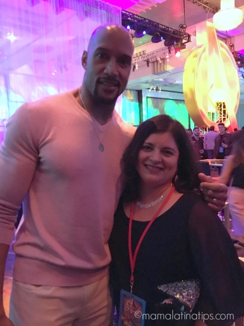 Henry Simmons from Agents of S.H.I.E.L.D. and Silvia-mamalatinatips