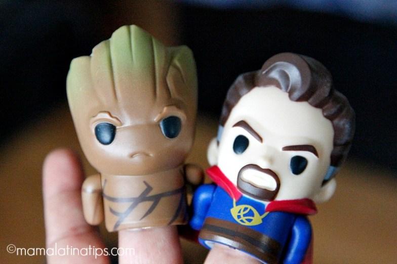 Marvel avengers finger puppets