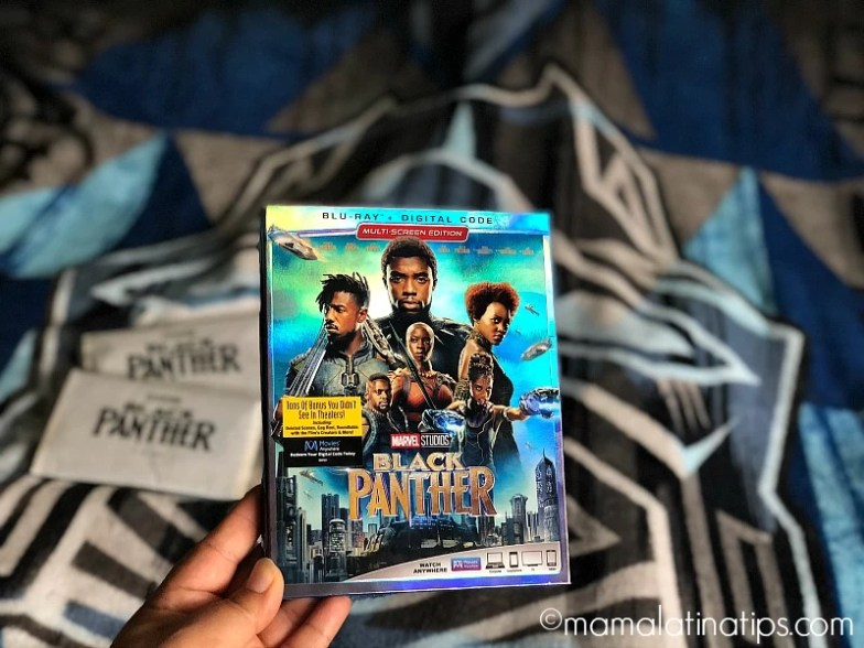 Blu-ray de Black Panther