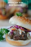 Jamaican Jerk Beef Sliders