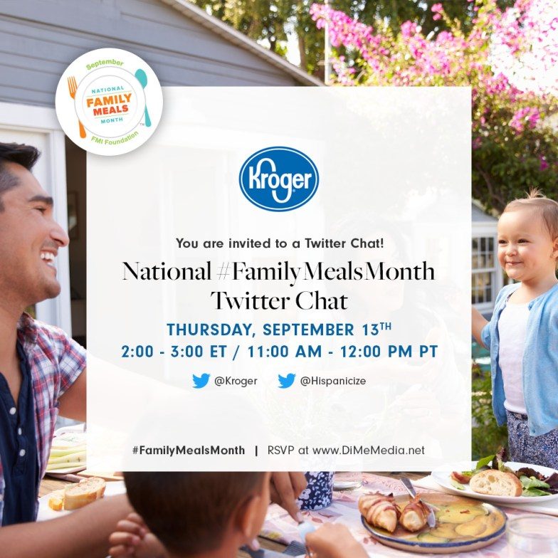 National Family Meals Month Twitter Chat
