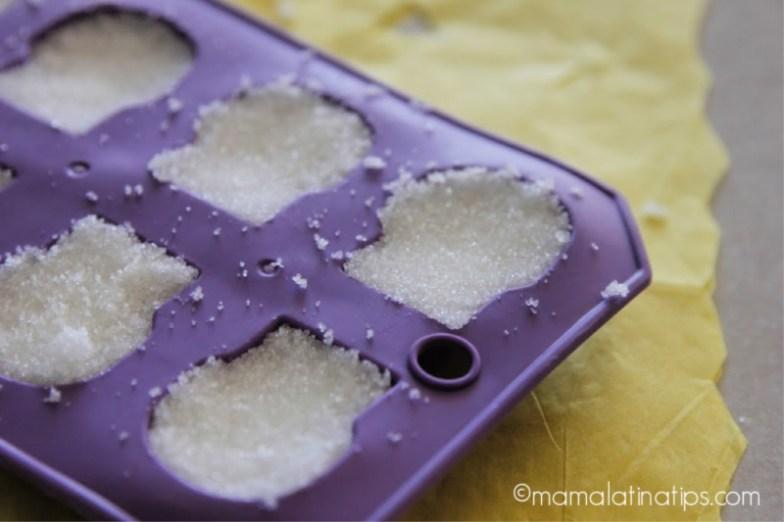 Molde para hacer calaveritas de azúcar