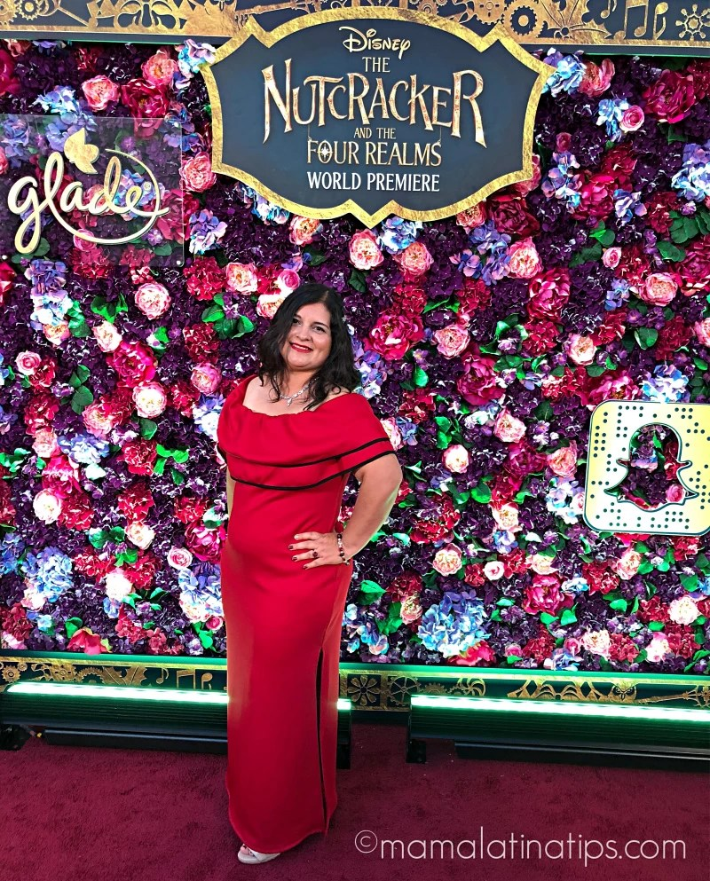 Silvia Martinez at Disney's The Nutcracker and the Four Realms Premiere