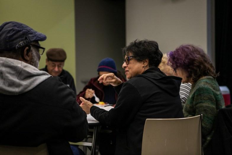 Seniors at the Long Beach Senior Arts Colony