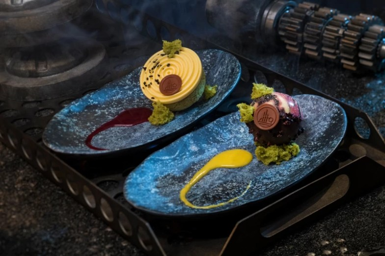 Postres en Docking Bay en Star Wars Galaxy's Edge