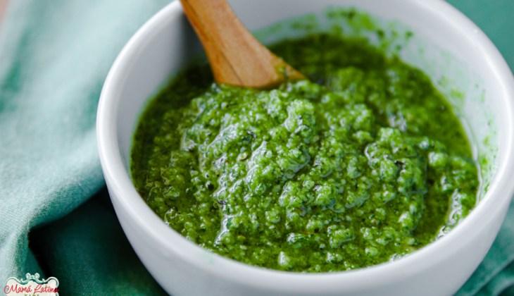 Basil Pesto Recipe & Video