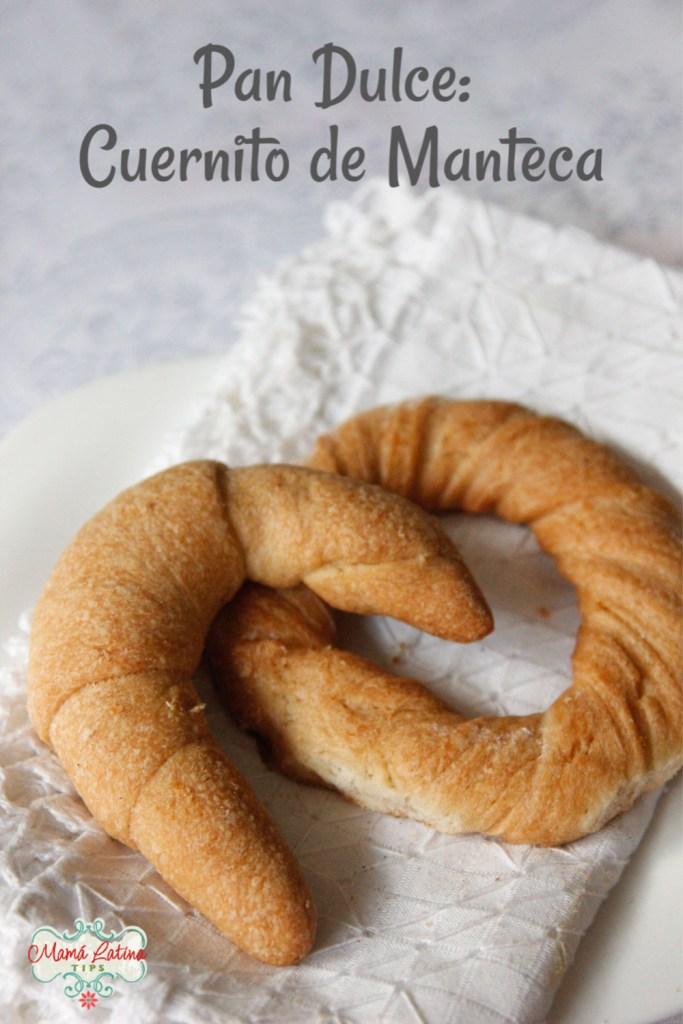 mexican bread called cuerno
