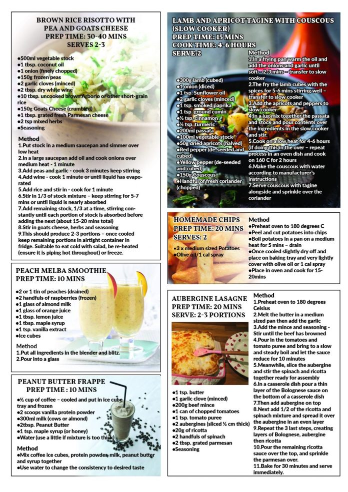 Meals, Recipes, Food, Smoothie, Risotto, Dinner, Meal Plan
