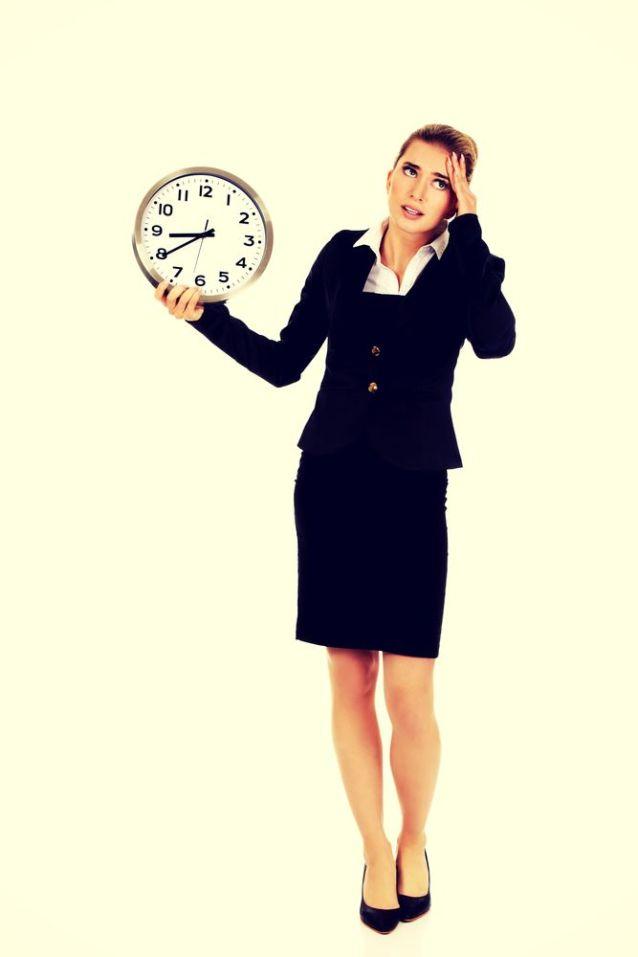 werkende moeder met tijdsdruk