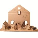 Kerststal van karton | Dutch Design Brand