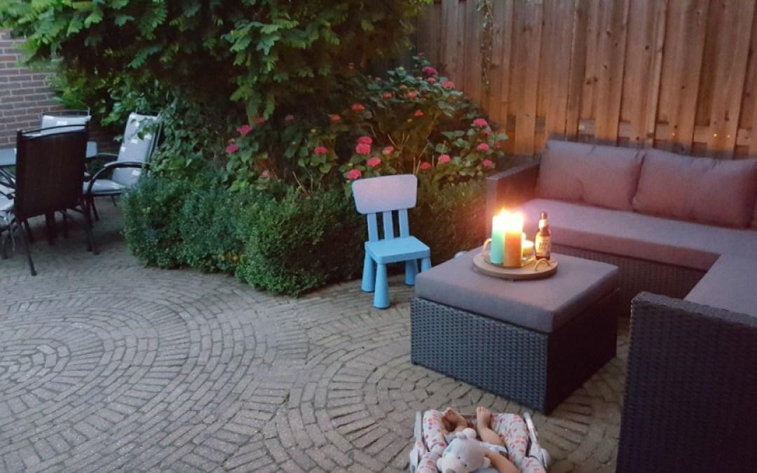 Weer een mooie kleurige tuin na de buxusmot