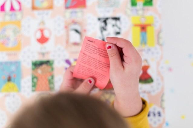 luikjeskalender voor kinderen