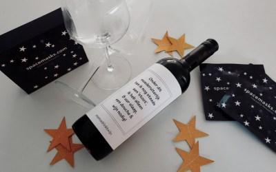 Ontspannen met Spacemasks (en wijn)  | 8 Days of Christmas