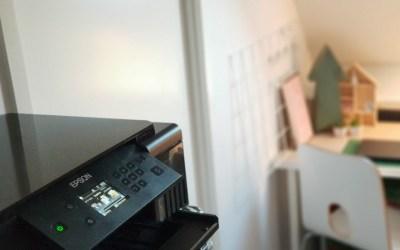 Thuis foto's afdrukken met de Epson EcoTank ET-7700