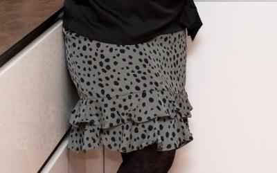De high low en a-lijn rok; favorieten voor mijn figuur