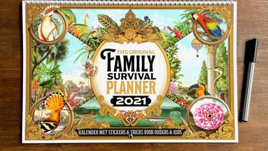 Ben jij op zoek naar een mooie én fijne familieplanner? De The Original Family Survival Planner is de beste familieplanner en hij is prachtig vormgegeven!