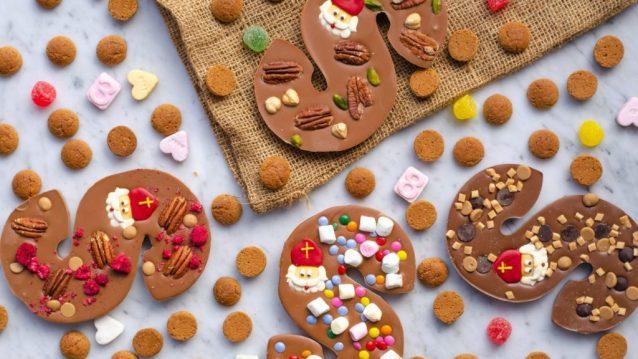 Feestdagen tijd! Kom maar door met de liters warme chocolademelk, knusse avondjes op de bank n (h)eerlijke handgemaakte chocoladeletters!