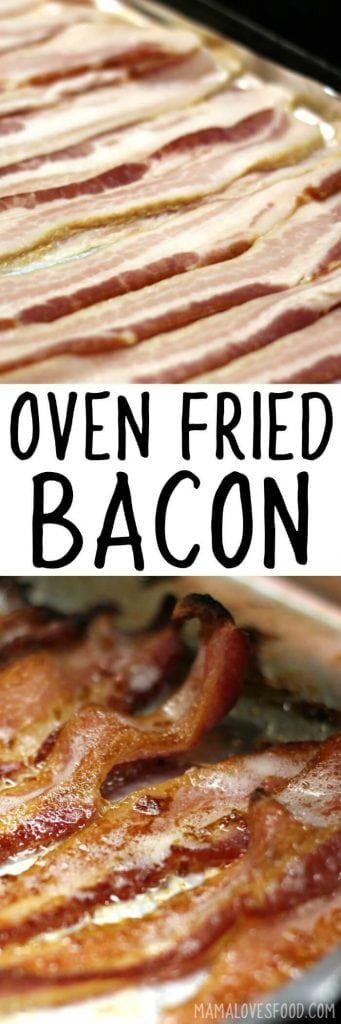 BACON IN OVEN