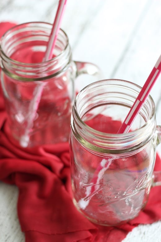 Double Berry Ginger Ale Float