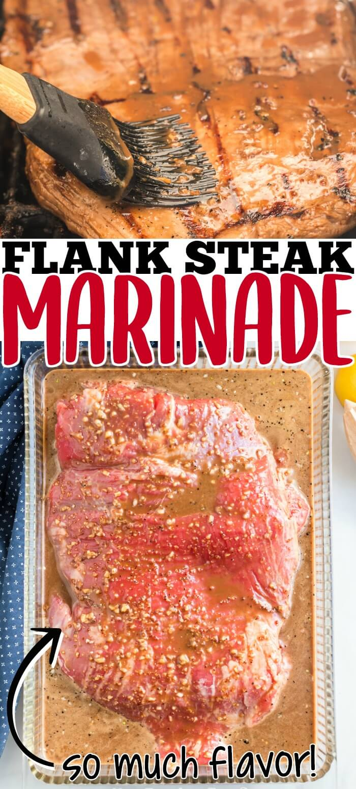 BEST FLANK STEAK MARINADE