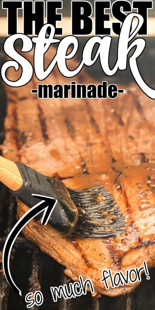 MARINADE FOR GRILLED FLANK STEAK