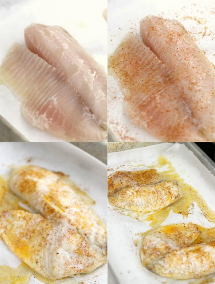 TILAPIA FOR FISH TACOS
