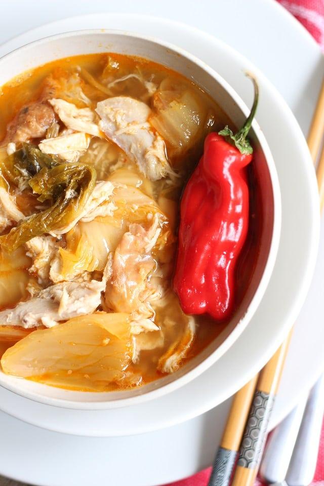Simple Kimchi Stew Recipe - Kimchi Jjigae