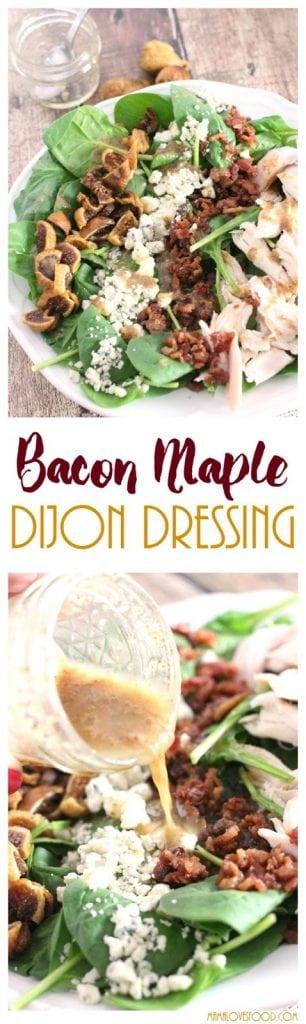 Bacon Maple Dijon Salad Dressing Recipe
