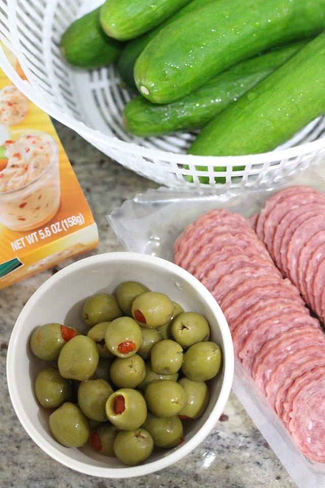 Easy Cheesy Antipasto Appetizers