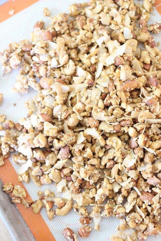 Maple Nut Clusters Recipe